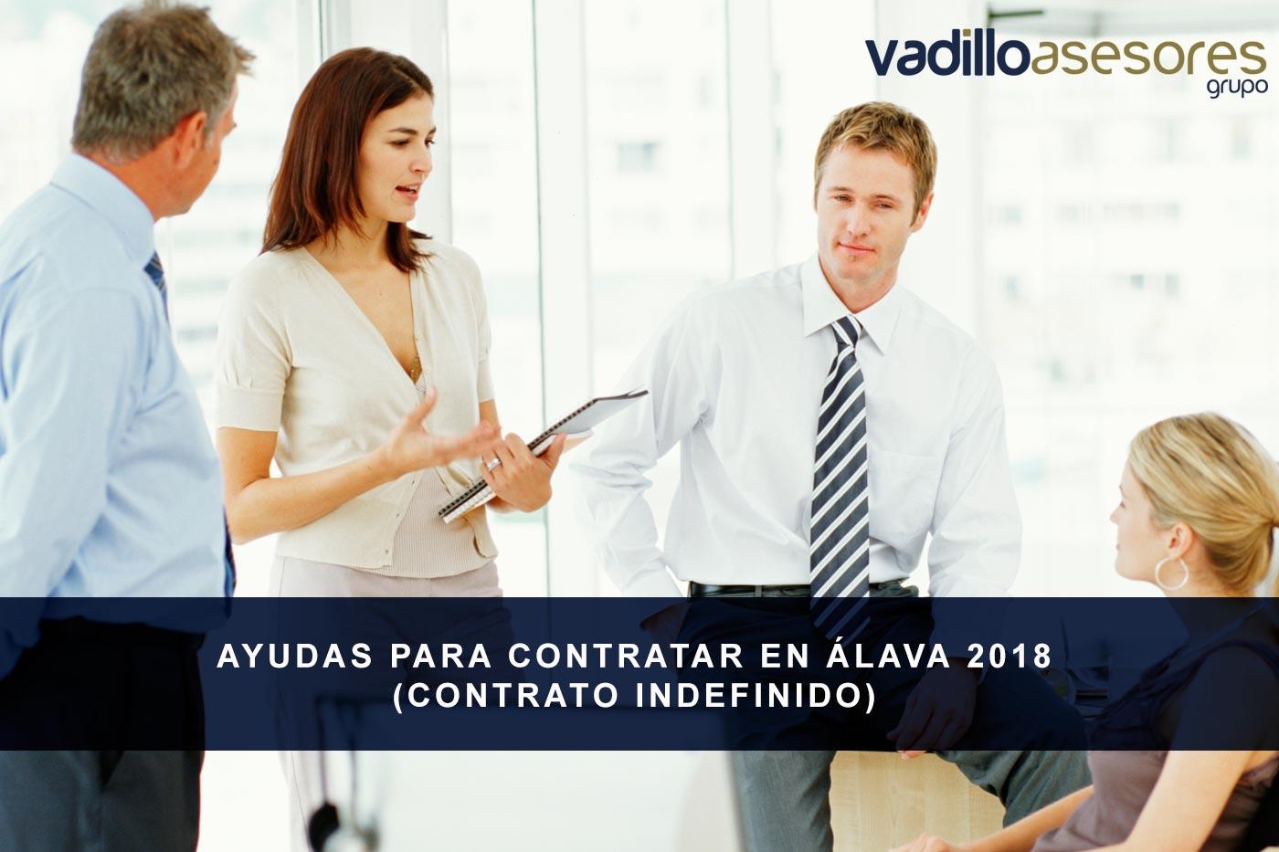 Ayudas para contratar en Álava 2018 (contrato indefinido)