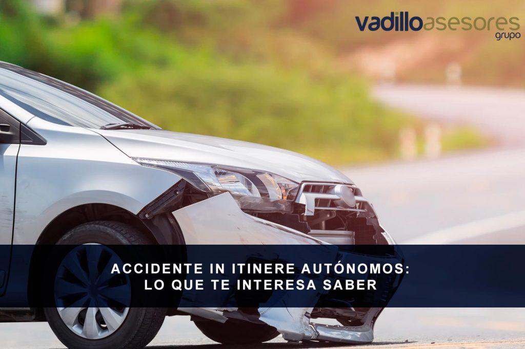 Accidente in intinere autónomos