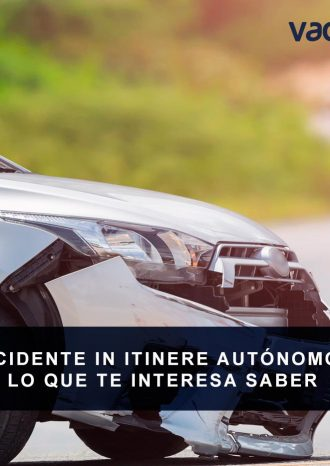 Accidente in intinere autónomos
