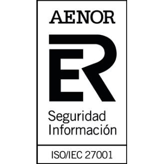 ISO 270001 Aenor